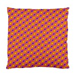 Vibrant Retro Diamond Pattern Standard Cushion Case (Two Sides) Back