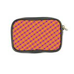 Vibrant Retro Diamond Pattern Coin Purse Back
