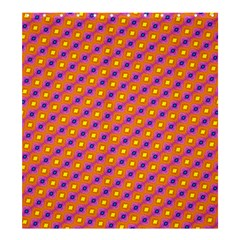 Vibrant Retro Diamond Pattern Shower Curtain 66  x 72  (Large)