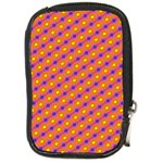 Vibrant Retro Diamond Pattern Compact Camera Cases Front