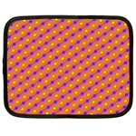 Vibrant Retro Diamond Pattern Netbook Case (XXL)  Front