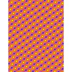 Vibrant Retro Diamond Pattern Large Memo Pads 4.125 x5.5  Memopad
