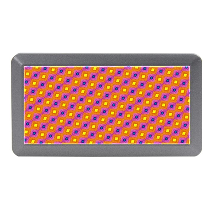Vibrant Retro Diamond Pattern Memory Card Reader (Mini)