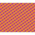Vibrant Retro Diamond Pattern Deluxe Canvas 14  x 11  14  x 11  x 1.5  Stretched Canvas