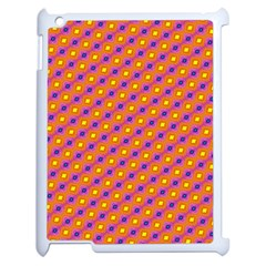 Vibrant Retro Diamond Pattern Apple Ipad 2 Case (white)