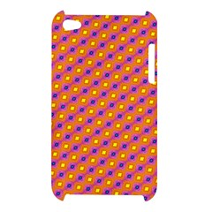 Vibrant Retro Diamond Pattern Apple iPod Touch 4