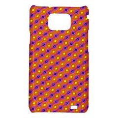 Vibrant Retro Diamond Pattern Samsung Galaxy S2 i9100 Hardshell Case