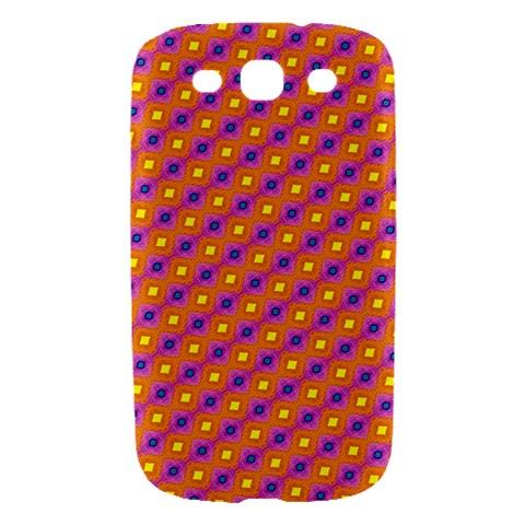 Vibrant Retro Diamond Pattern Samsung Galaxy S III Hardshell Case