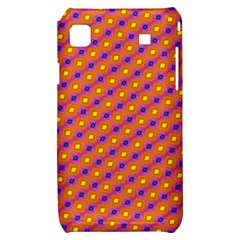 Vibrant Retro Diamond Pattern Samsung Galaxy S i9000 Hardshell Case