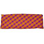 Vibrant Retro Diamond Pattern Body Pillow Case Dakimakura (Two Sides) Back