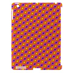 Vibrant Retro Diamond Pattern Apple iPad 3/4 Hardshell Case (Compatible with Smart Cover)