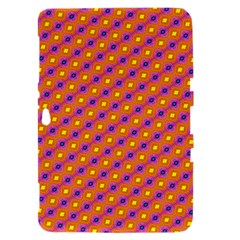 Vibrant Retro Diamond Pattern Samsung Galaxy Tab 8.9  P7300 Hardshell Case