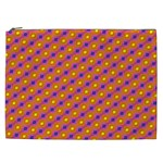 Vibrant Retro Diamond Pattern Cosmetic Bag (XXL)  Front