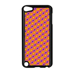 Vibrant Retro Diamond Pattern Apple iPod Touch 5 Case (Black)