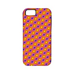 Vibrant Retro Diamond Pattern Apple iPhone 5 Classic Hardshell Case (PC+Silicone)