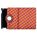 Vibrant Retro Diamond Pattern Apple iPad 2 Flip 360 Case Front