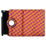 Vibrant Retro Diamond Pattern Apple iPad 3/4 Flip 360 Case Front