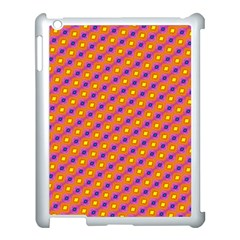 Vibrant Retro Diamond Pattern Apple Ipad 3/4 Case (white)