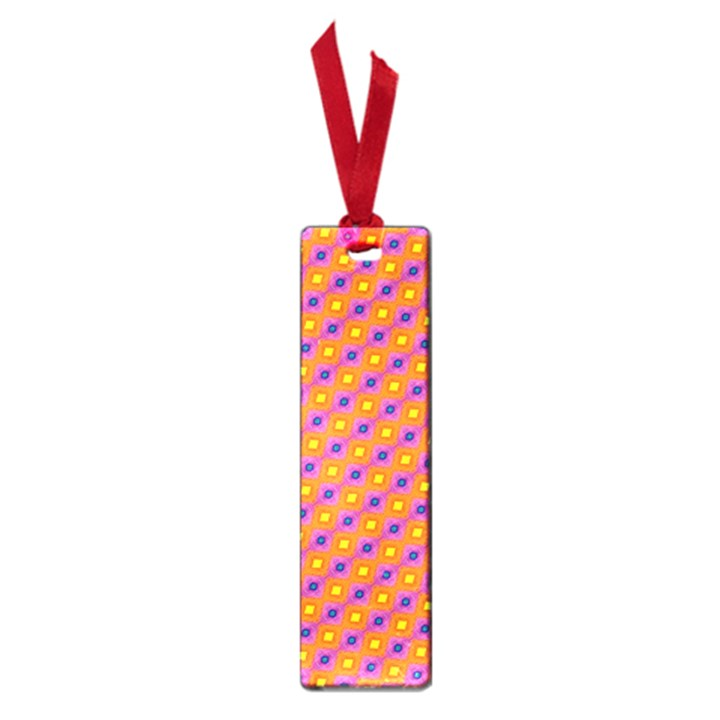 Vibrant Retro Diamond Pattern Small Book Marks