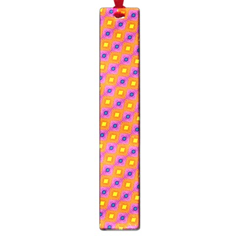 Vibrant Retro Diamond Pattern Large Book Marks