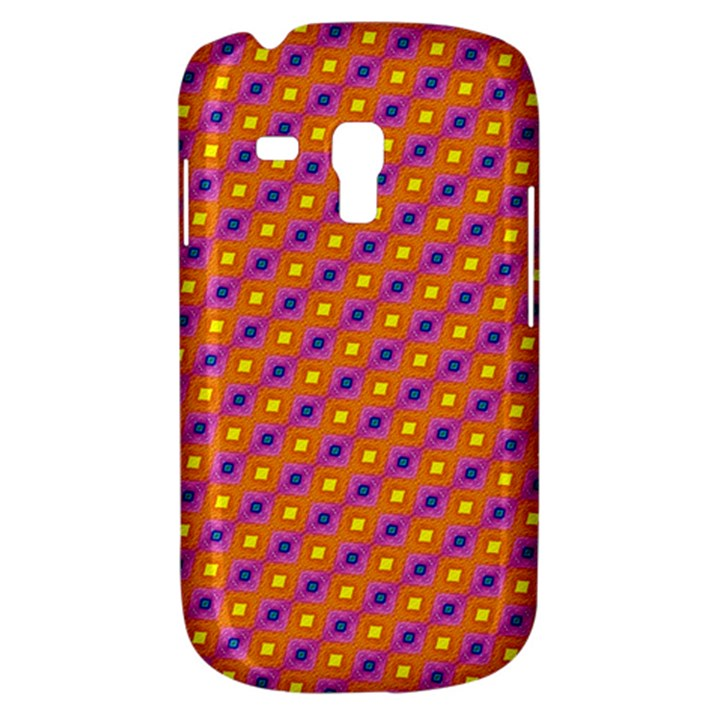 Vibrant Retro Diamond Pattern Samsung Galaxy S3 MINI I8190 Hardshell Case