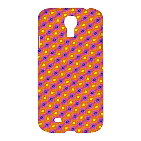 Vibrant Retro Diamond Pattern Samsung Galaxy S4 I9500/I9505 Hardshell Case