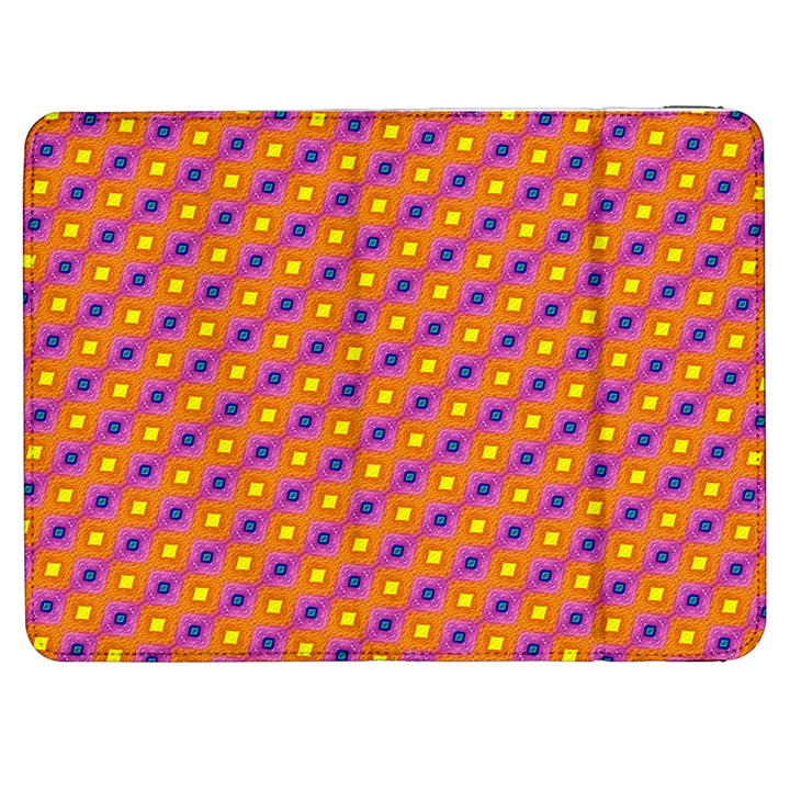 Vibrant Retro Diamond Pattern Samsung Galaxy Tab 7  P1000 Flip Case