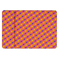 Vibrant Retro Diamond Pattern Samsung Galaxy Tab 8 9  P7300 Flip Case