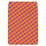 Vibrant Retro Diamond Pattern Flap Covers (L)  Front