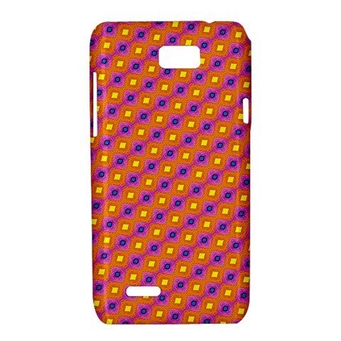 Vibrant Retro Diamond Pattern Motorola XT788