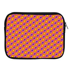 Vibrant Retro Diamond Pattern Apple Ipad 2/3/4 Zipper Cases