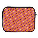 Vibrant Retro Diamond Pattern Apple iPad 2/3/4 Zipper Cases Front