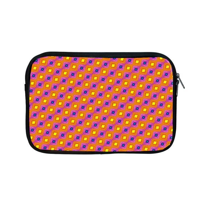 Vibrant Retro Diamond Pattern Apple iPad Mini Zipper Cases
