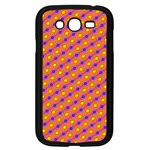 Vibrant Retro Diamond Pattern Samsung Galaxy Grand DUOS I9082 Case (Black) Front