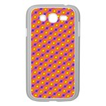Vibrant Retro Diamond Pattern Samsung Galaxy Grand DUOS I9082 Case (White) Front