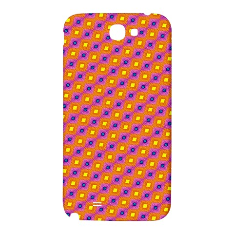 Vibrant Retro Diamond Pattern Samsung Note 2 N7100 Hardshell Back Case
