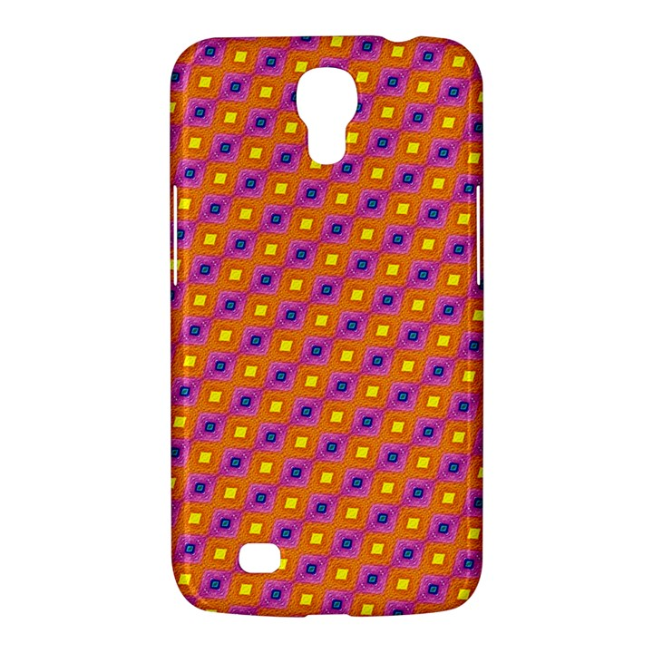 Vibrant Retro Diamond Pattern Samsung Galaxy Mega 6.3  I9200 Hardshell Case