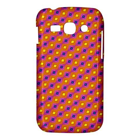 Vibrant Retro Diamond Pattern Samsung Galaxy Ace 3 S7272 Hardshell Case