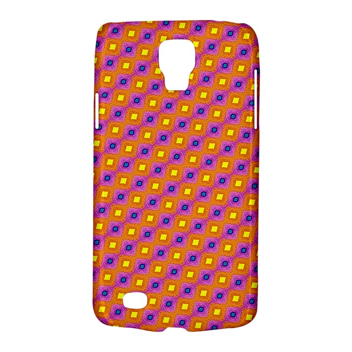 Vibrant Retro Diamond Pattern Galaxy S4 Active