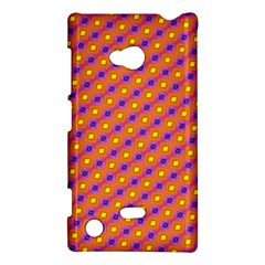 Vibrant Retro Diamond Pattern Nokia Lumia 720