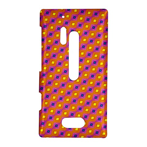 Vibrant Retro Diamond Pattern Nokia Lumia 928