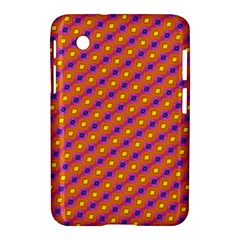 Vibrant Retro Diamond Pattern Samsung Galaxy Tab 2 (7 ) P3100 Hardshell Case