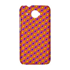 Vibrant Retro Diamond Pattern HTC Desire 601 Hardshell Case