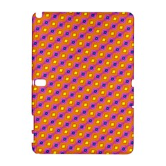 Vibrant Retro Diamond Pattern Samsung Galaxy Note 10 1 (p600) Hardshell Case