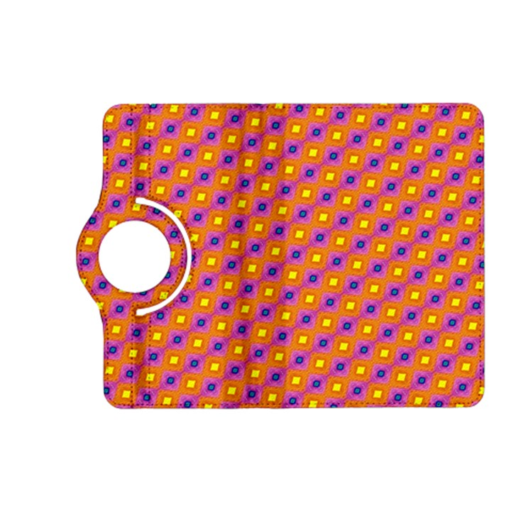 Vibrant Retro Diamond Pattern Kindle Fire HD (2013) Flip 360 Case