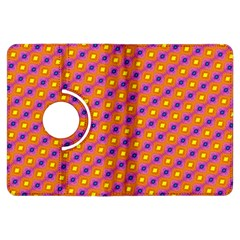 Vibrant Retro Diamond Pattern Kindle Fire Hdx Flip 360 Case