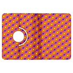 Vibrant Retro Diamond Pattern Kindle Fire HDX Flip 360 Case Front