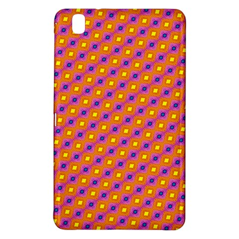 Vibrant Retro Diamond Pattern Samsung Galaxy Tab Pro 8.4 Hardshell Case