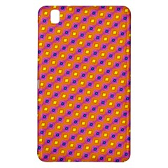 Vibrant Retro Diamond Pattern Samsung Galaxy Tab Pro 8 4 Hardshell Case