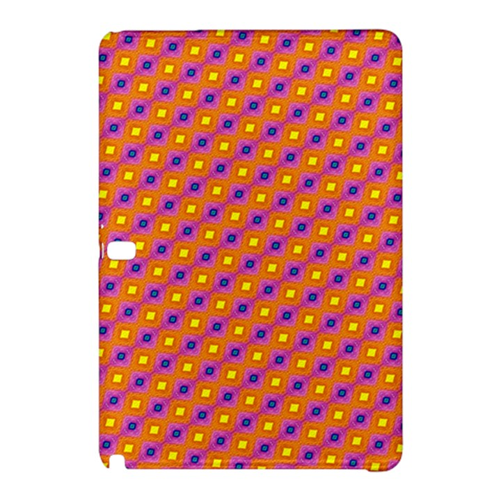Vibrant Retro Diamond Pattern Samsung Galaxy Tab Pro 12.2 Hardshell Case
